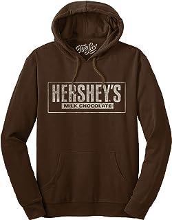 Tee Luv Hershey's Milk Chocolate Hoodie - Hersheys Brown Hooded Sweatshirt
