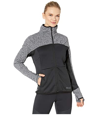 Marmot Mescalito Fleece Jacket (Black) Women
