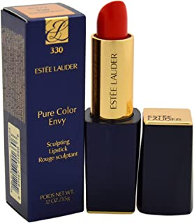 Estee Lauder Women's Pure Color Envy Sculpting Lipstick, 330 Impassioned, 0.12 Ounce