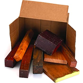 Exotic Wood Cut-Offs 10-Pound Box