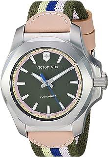 Victorinox I.N.O.X زنان بند ضد زنگ Swiss-Quartz Nylon، Multi، 18 Casual Watch (مدل: 241809)