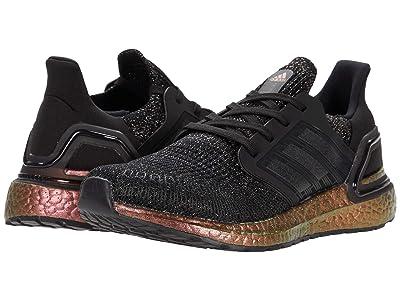 adidas Kids UltraBOOST 20 (Big Kid) (Core Black/Core Black/Signal Pink) Kid