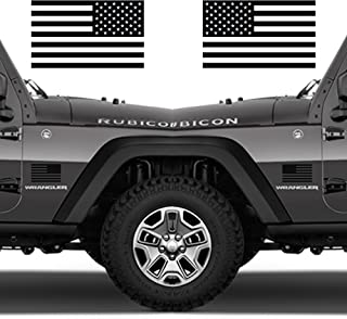 military american flag decal