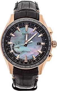 Seiko Astron GPS Solar Quartz (Battery) Mother-of-Pearl Dial Mens Watch SSE105 (Certified Pre-Owned)