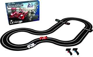 Scalextric C1368T 24 Hr Le Mans Sports Cars Slot Car Analog 1:32 Race Track Set, Red/White/Black