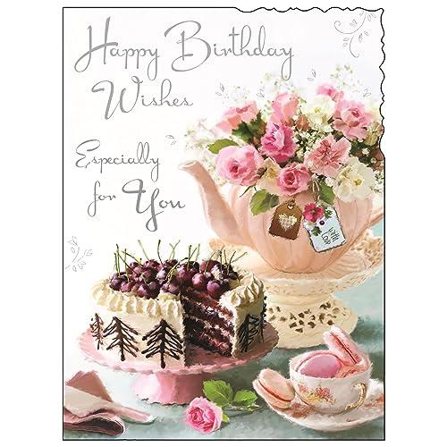 Greeting Card JJ4436 Female Birthday