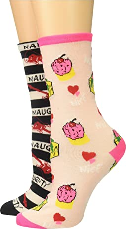 Betsey Johnson - 2-Pack Naughty or Nice