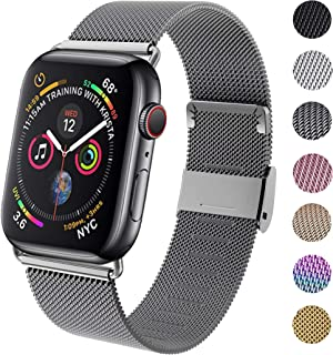 GBPOOT Band Compatible with Apple Watch Band 38mm 40mm 42mm 44mm, Wristband Loop Replacement Band for Iwatch Series 6/SE/5...