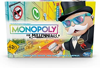 Hasbro- Monopoly for Millennials Juego de Mesa, Multicolor (E49891020)