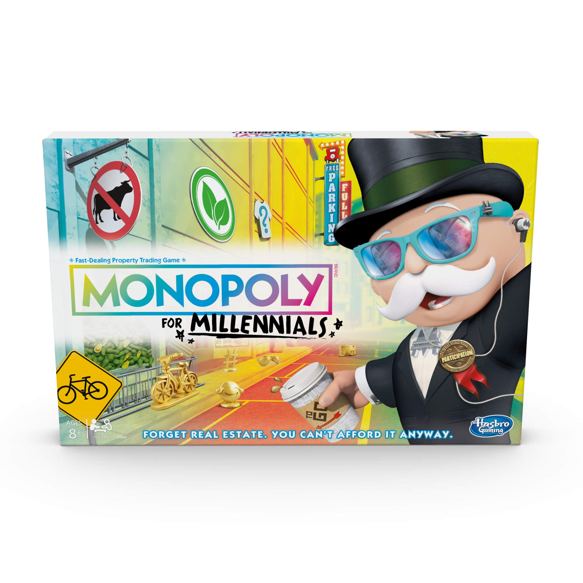 Hasbro Gaming Monopoly for Millennials Board Game