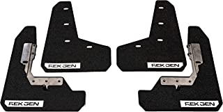 REK GEN Mud Flaps 2015+ Compatible with Subaru WRX/STI - Precise Fitment - Mounting Hardware & Instructions Included. (Whi...