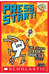 The Super Side-Quest Test!: A Branches Book (Press Start! #6) Kindle Edition