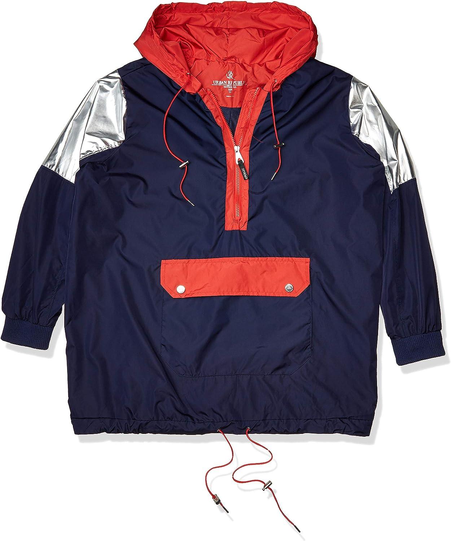 URBAN REPUBLIC womens Juniors Windbreaker Jacket