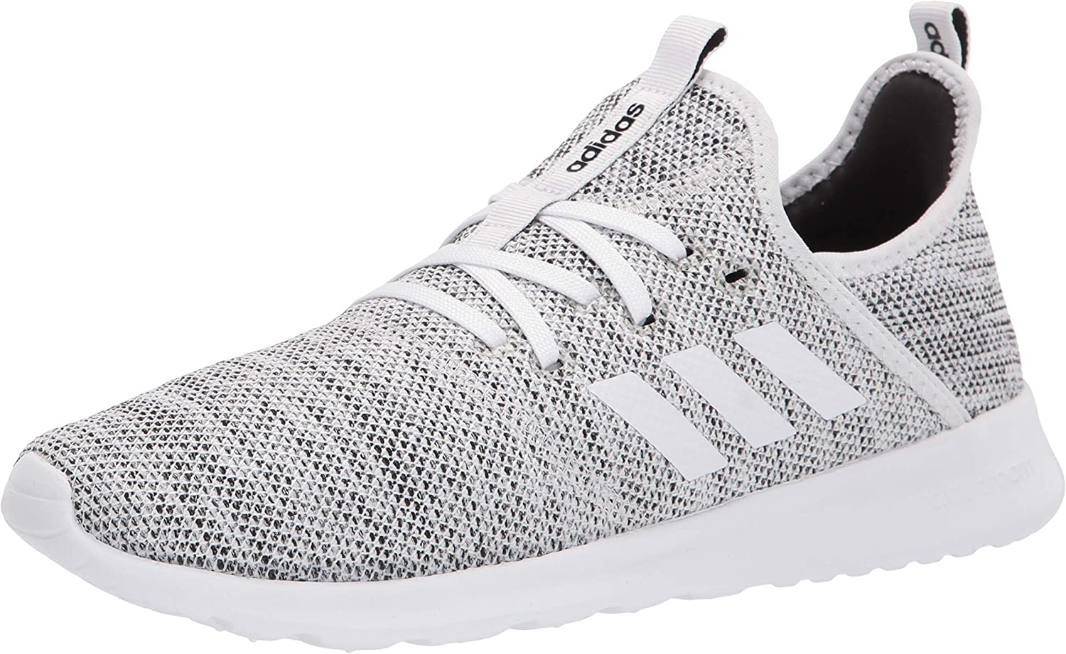 adidas OFFicial mail order Women's Cloud foam Ranking TOP3 Pure black white Running Shoe