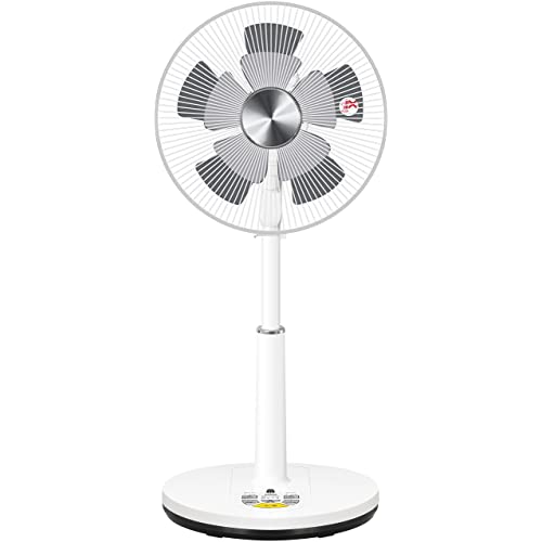 山善 DCモーター搭載 30cmリビング扇風機 (静音モード搭載)(リモコン)(風量4段階) 入切タイマー付 メタリックシルバー YLX-ED301(MS)