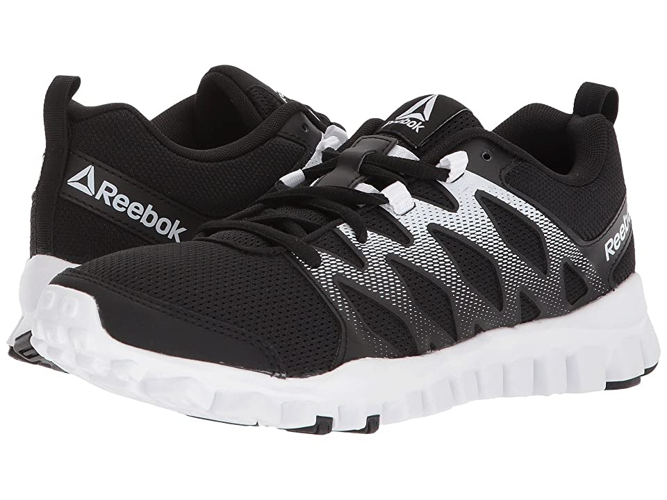 Reebok RealFlex Train 4.0 (Black/White) Women