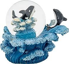 ORCA WAL 3/x 3/Miniatur Kunstharz 45/mm Water Globe Tisch Top Figur