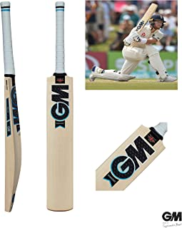 Gunn & Moore GM Diamond Signature Premium English Willow Cricket Bat, Men's Size (Short Handle)