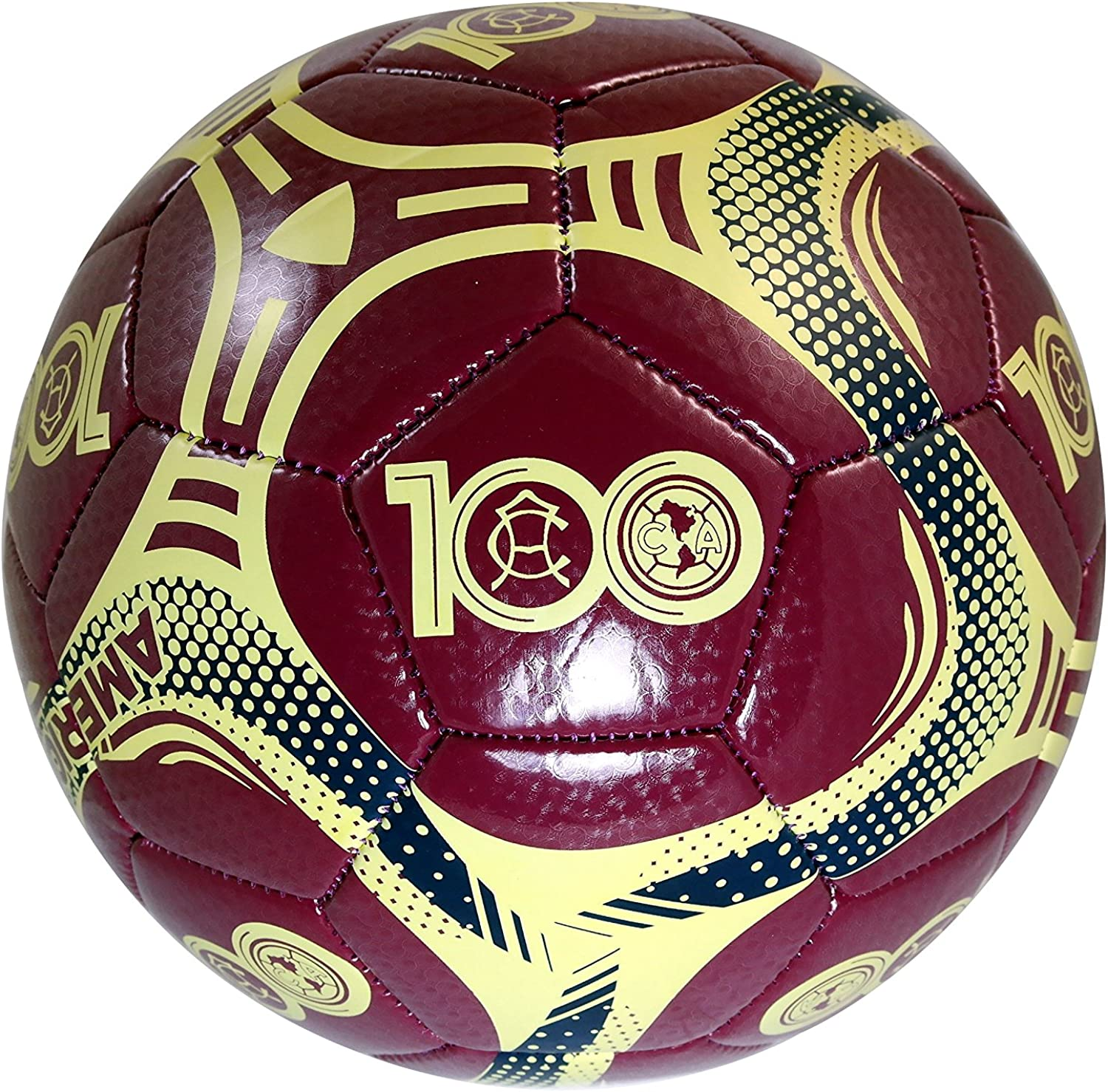 Club America 100 Year Authentic Si Surprise price Licensed Ball Official Soccer Fixed price for sale