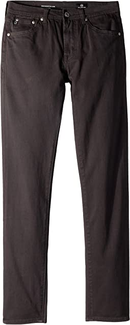 AG Adriano Goldschmied Kids - The Kingston Luxe Slim Skinny Sueded Twill in Raw Grey (Big Kids)