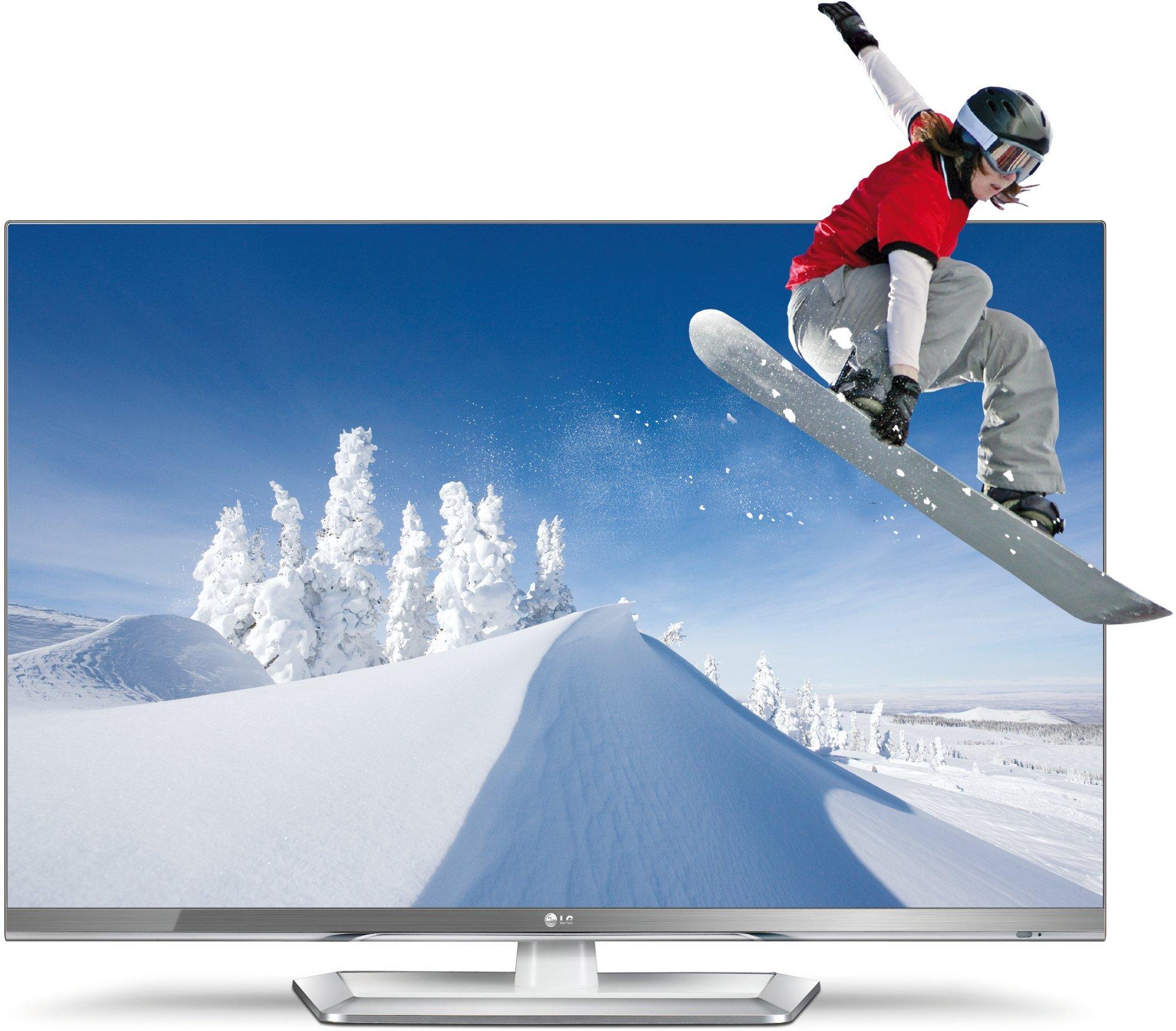 LG 47LM669s - Televisor LED, 47 pulgadas, HDMI 1.4, 1080p, CI+ para TDT Premium, Smartphone Control, con gafas Cinema 3D, 3 USB, DLNA, color blanco: Amazon.es: Electrónica