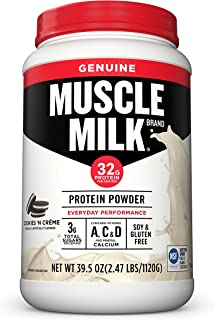 muscle milk protein powder cookies and cream