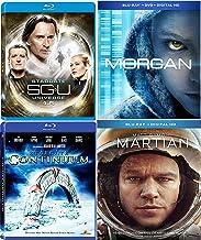Head for Mars Matt Damon Martian + A Bioengineered Child Morgan Movie + Stargate SGU Season 1.5 + UNIVERSE Star gate: Continuum Pack Blu Ray Mega Sci-Fi Set