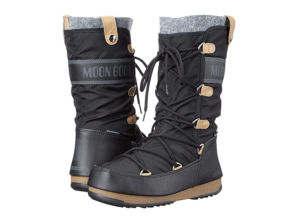 Tecnica Moon Boot(r) Monaco Felt (Black) Women