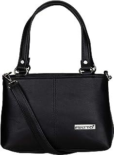 Fristo Women's Kaira Handbag & Sling Bag(FRBN-010)(Black)
