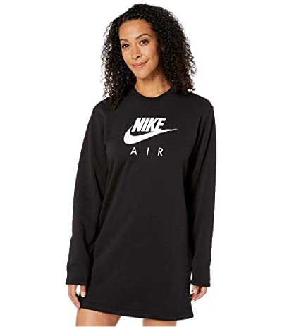 Nike NSW Air Crew Dress Fleece (Black) Women