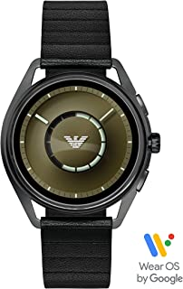 Emporio Armani Men's Smartwatch 2 Powered with Wear OS by Google with Heart Rate, GPS, NFC, and Smartphone Notifications