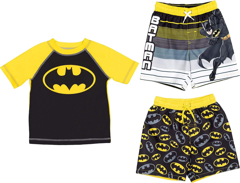 Ranking TOP6 DC Popular products Comics Justice League Batman Toddler 3 Boys Rash Piece Raglan