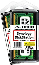 A-Tech 16GB Kit (2 x 8GB) for Synology DiskStation DS1517+ DS1817+ NAS Servers - DDR3/DDR3L 1600Mhz PC3L-12800 1.35v SODIMM Memory RAM (Equivalent to Synology RAM1600DDR3L-8GBx2)