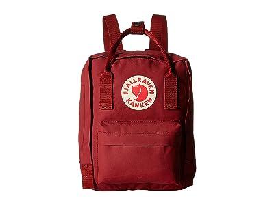Fjallraven Kanken Mini (Ox Red) Backpack Bags