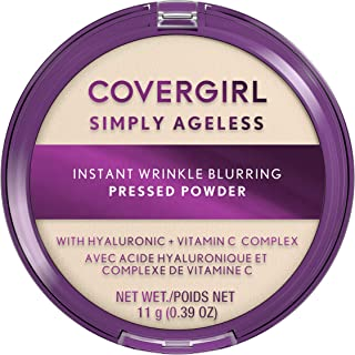 Covergirl Simply Ageless Instant Wrinkle Blurring Pressed Powder, Translucent, 3.9 Oz.