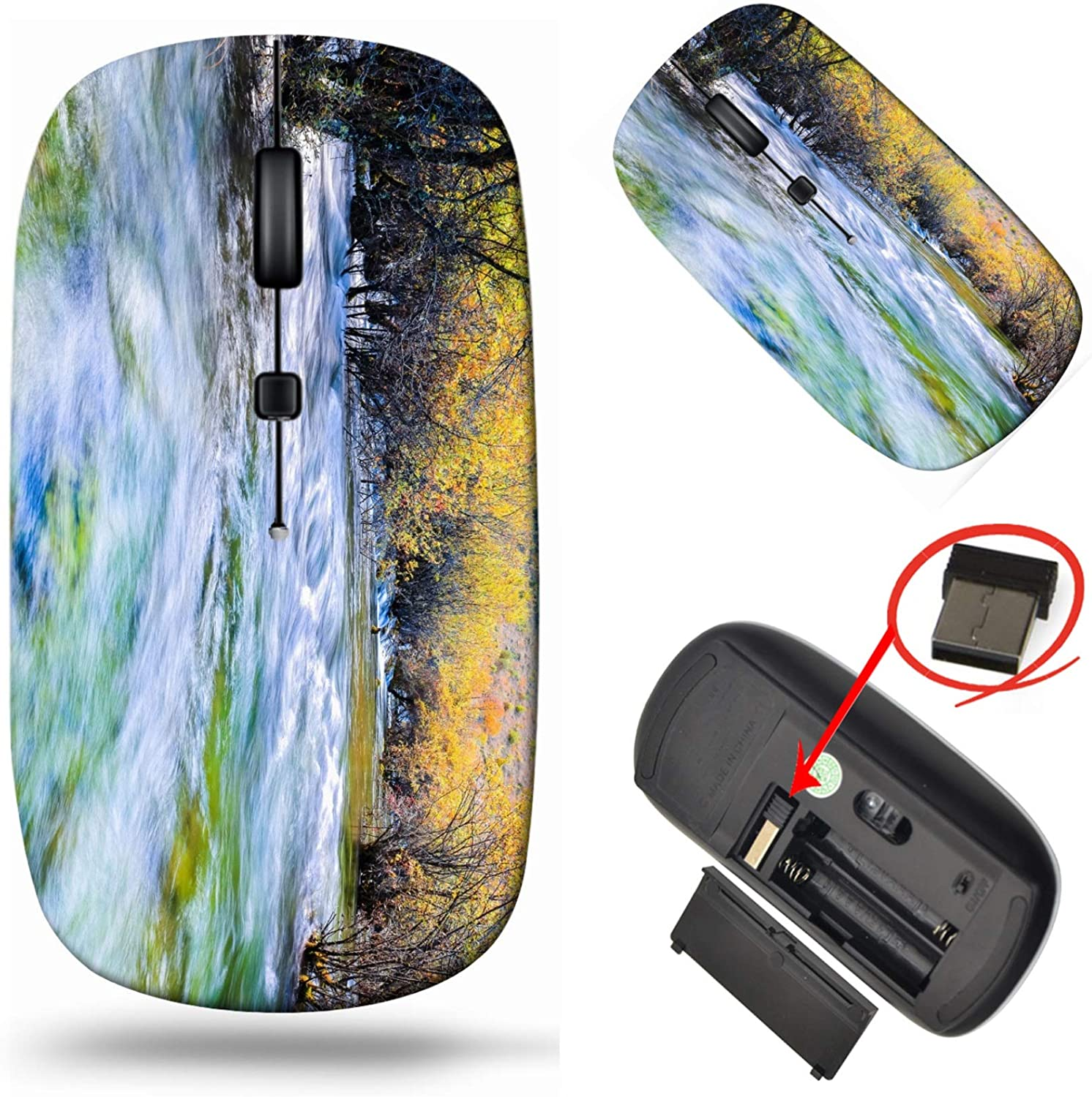 MSD Computer Wireless Mouse Laptop Tra Limited time sale USB 2.4G Beauty products