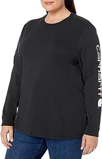 Carhartt Logo Long-Sleeve T-Shirt Magliette Donna
