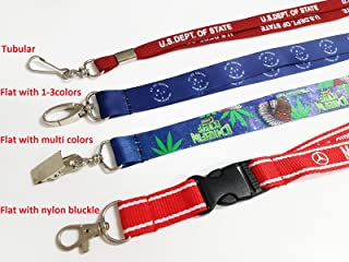 custom key lanyard