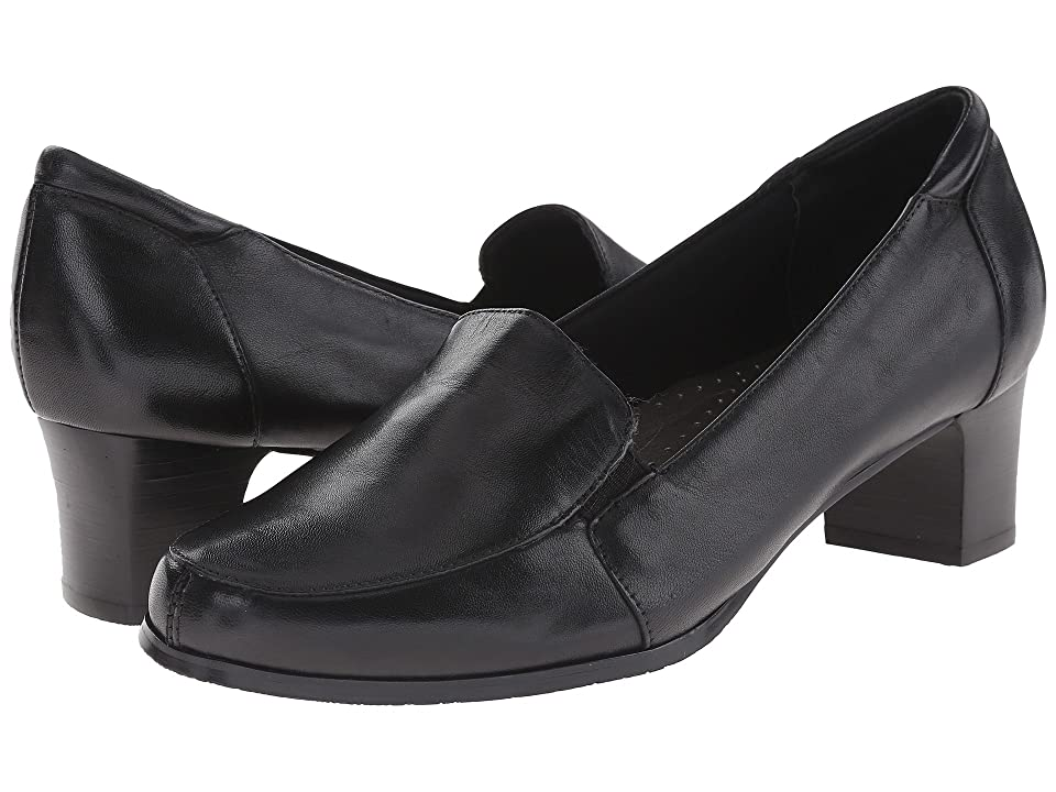 Trotters Gloria (Black Leather) Women