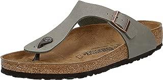 Birkenstock Women's Gizeh Sandals, Brown, 45 EU