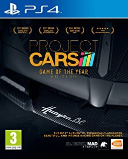 Project cars game of the year edition for ps4