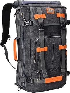 Canvas Backpack Vintage Travel Backpack Hiking Luggage Rucksack Laptop Bags