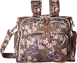 Ju ju be hobo be messenger diaper bag with insulated bottle pockets ... 9076dbb546184