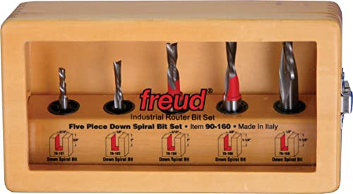 new arrival Freud new arrival 5 Piece Down Spiral Bit online sale Set (90-160) sale