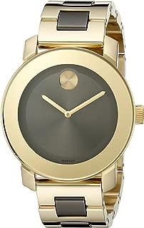 Women's 3600338 Analog Display Swiss Quartz Two Tone Watch