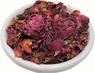 Sponsored Ad - 2 OZ Natural Raw Dry Rose Buds and Pedals, Herbs, Botanicals, Additives For Tea, Soap, Lotion, and Other Co...