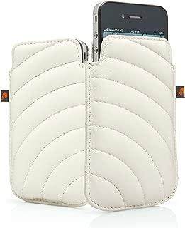 Cygnett CY0494CPMAN Manhattan Case for iPhone 4S - 1 Pack - Retail Packaging - White