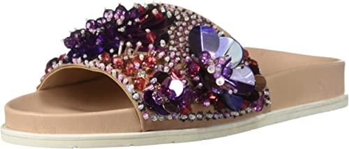 Kenneth Cole Xenia Sequin, Pantuflas para mujer