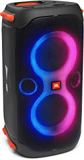 JBL Partybox 110 Portable Party Speaker with 160W Powerful Sound, Built-In Lights and Splashproof Design