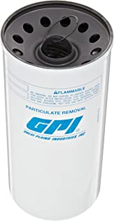GPI 129340-06, P-40-30-1.5 Particulate Fuel Filter, 40 GPM/151 LPM, 30 Micron, 1.5 - 16 UNF